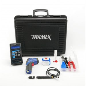 Tramex Concrete Inspection Kit (CMEX2, 4 Hygro-i Probes, SAL75, 12 Hole Liners, IRT2) - Catalyst Sales and Distribution, LLC