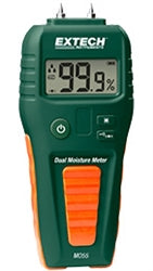 EXTECH MO55 COMBINATION PIN/PINLESS MOISTURE METER