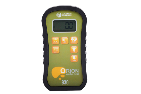 Orion® 930 Dual Depth Pinless Wood Moisture Meter By Wagner