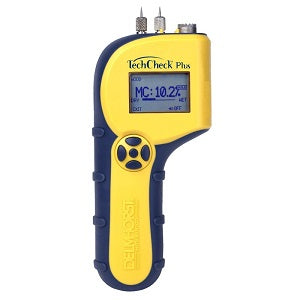Delmhorst TECHCHECK PLUS  w/Case (Pin & Scan Modes) - Catalyst Sales and Distribution, LLC