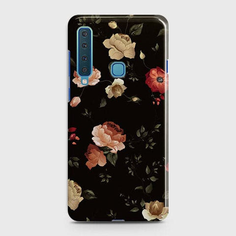Dark Rose Vintage Flowers 3D Print Case For Samsung Galaxy A9 2018 / A9s / A9 Star Pro