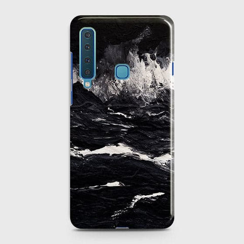 3D Black Ocean Marble Trendy Case For Samsung Galaxy A9 2018 / A9s / A9 Star Pro