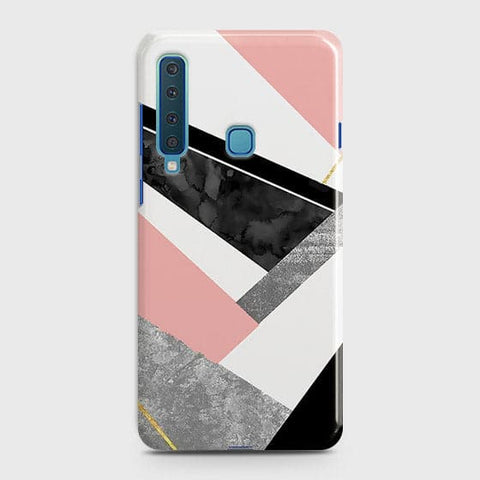Geometric Luxe Marble Trendy Case For Samsung Galaxy A9 2018 / A9s / A9 Star Pro