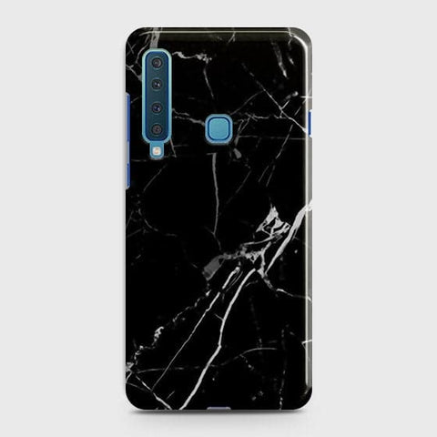 Black Modern Classic Marble Case For Samsung Galaxy A9 2018 / A9s / A9 Star Pro