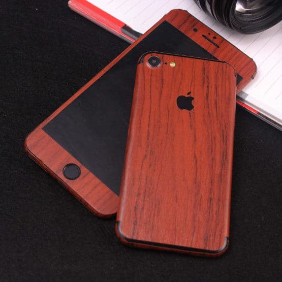 Wood Material Vinyl Phone Skin For Samsung A9 Star - Acacia Wood