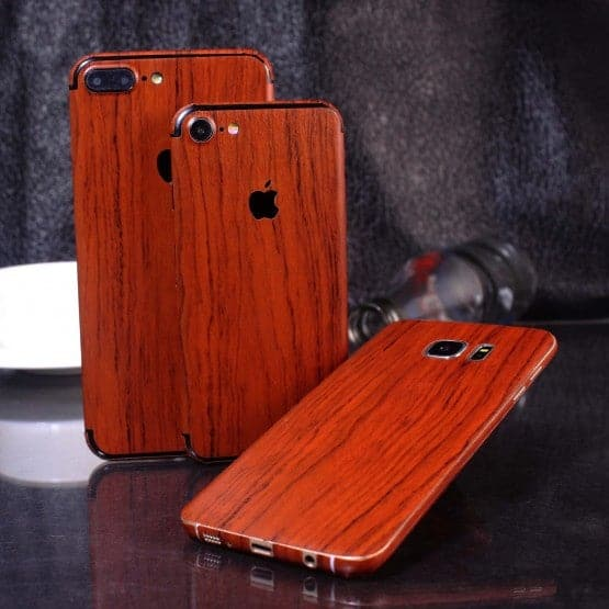 Wood Material Vinyl Phone Skin For Huawei Honor 9 Lite - Acacia Wood