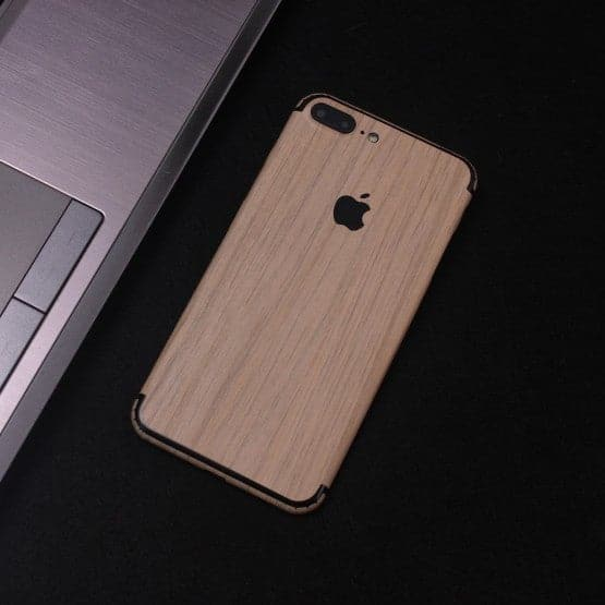 Wood Material Vinyl Phone Skin For Xiaomi Redmi 6A - Bamboo Wood