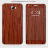 Wood Material Vinyl Phone Skin For Huawei Y5 II - Acacia Wood