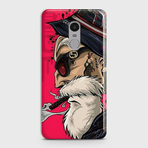 Master Roshi 3D Case For Xiaomi Redmi Note 4 / 4X