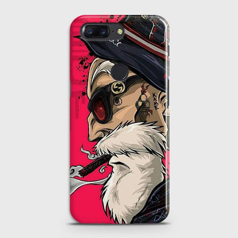 Master Roshi 3D Case For OnePlus 5T