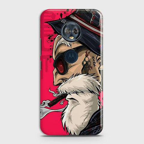 Master Roshi 3D Case For Motorola E5 Plus