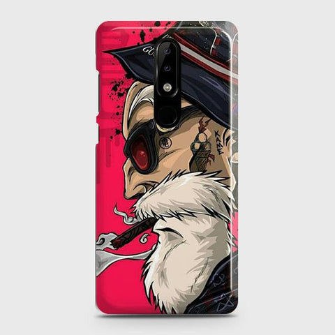 Master Roshi 3D Case For Nokia 5.1 Plus / Nokia X5