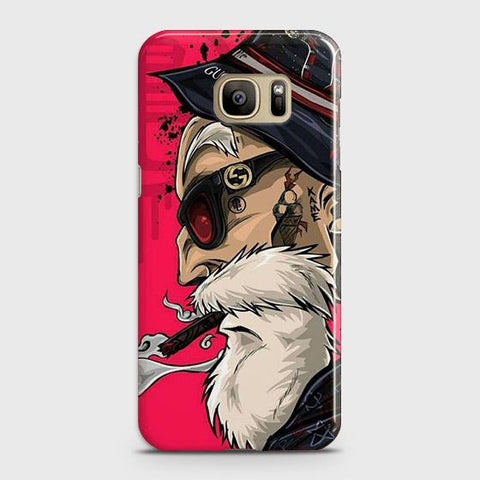 Master Roshi 3D Case For Samsung Galaxy S7