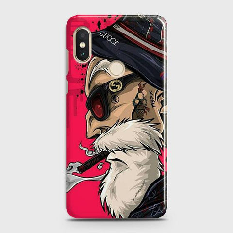 Master Roshi 3D Case For Xiaomi Redmi Note 6 Pro