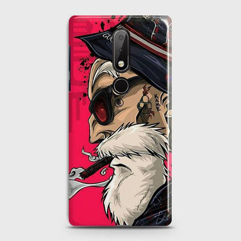 Master Roshi 3D Case For Nokia 7.1