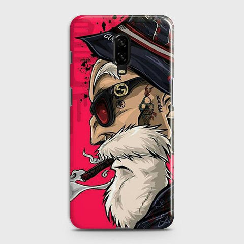 Master Roshi 3D Case For OnePlus 6T