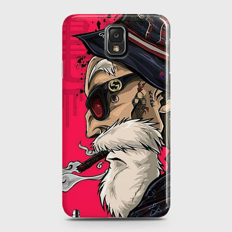 Master Roshi 3D Case For Samsung Galaxy Note 3