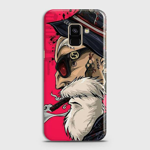 Master Roshi 3D Case For Samsung A8 Plus 2018
