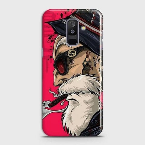 Master Roshi 3D Case For Samsung A6 Plus 2018