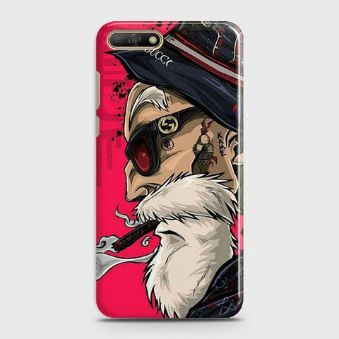 Master Roshi 3D Case For Huawei Y6 2018