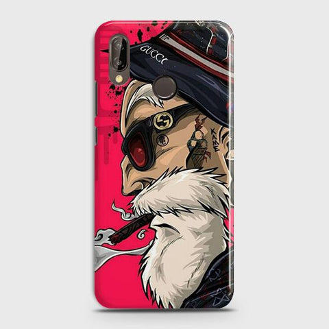 Master Roshi 3D Case For Huawei P20 Lite