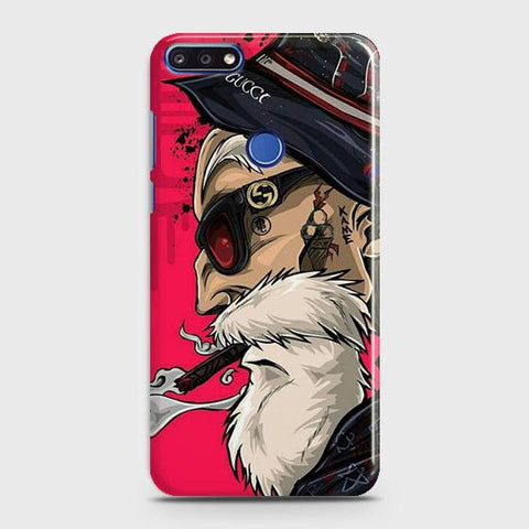 Master Roshi 3D Case For Huawei Y7 Prime 2018