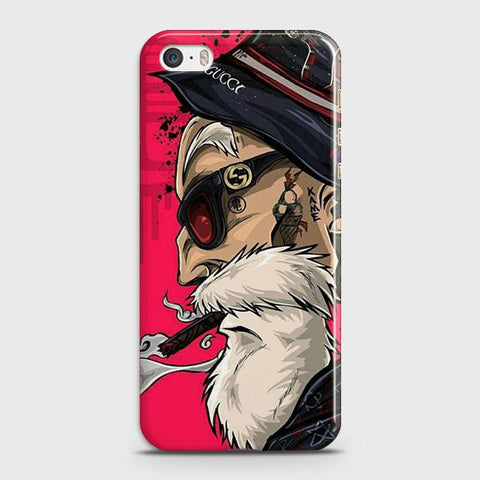 Master Roshi 3D Case For iPhone 5 & iPhone SE