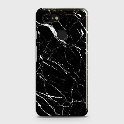 Trendy Black Marble Case For Google Pixel 3 XL