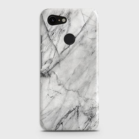 Trendy White Marble Case For Google Pixel 3 XL
