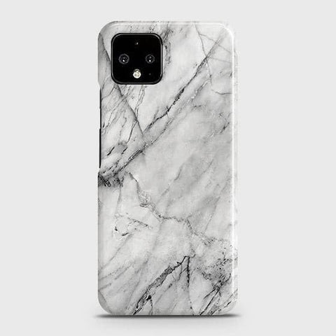 Trendy White Marble Case For Google Pixel 4