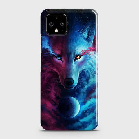Infinity Wolf 3D Trendy Case For Google Pixel 4 XL