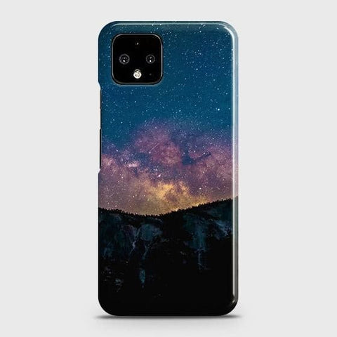 Google Pixel 4 XL Cover - Embrace Dark Galaxy  Trendy Printed Hard Case with Life Time Colors Guarantee