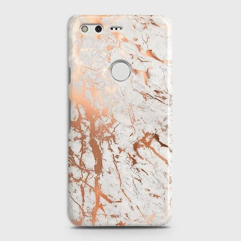 3D Print in Chic Rose Gold Chrome Style Case For Google Pixel XL