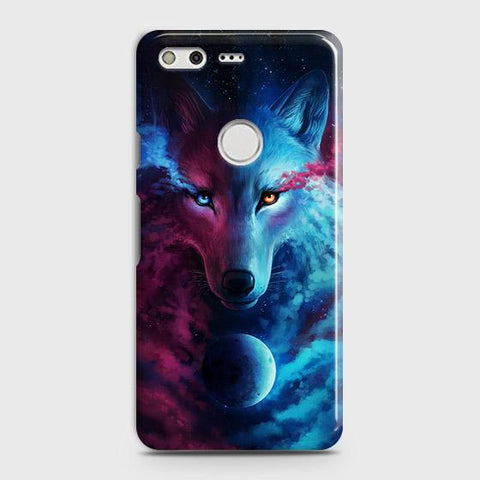 Infinity Wolf 3D Trendy Case For Google Pixel XL