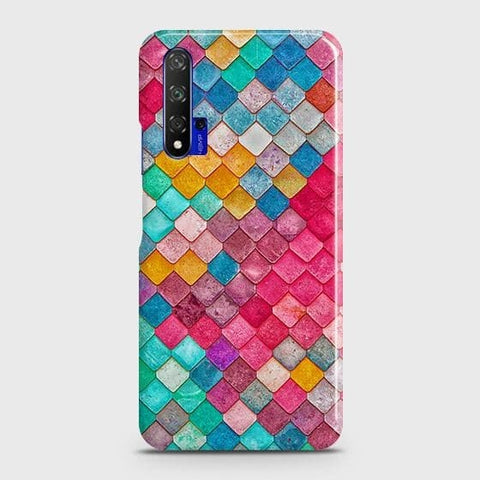 Chic Colorful Mermaid 3D Case For Honor 20