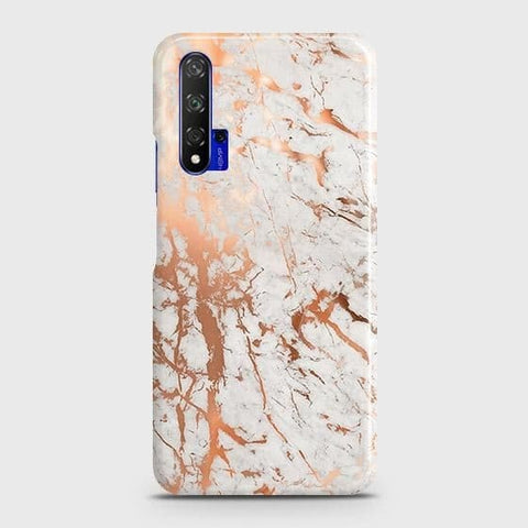 3D Print in Chic Rose Gold Chrome Style Case For Honor 20