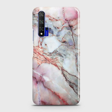 Violet Sky Marble 3D Trendy Case For Honor 20
