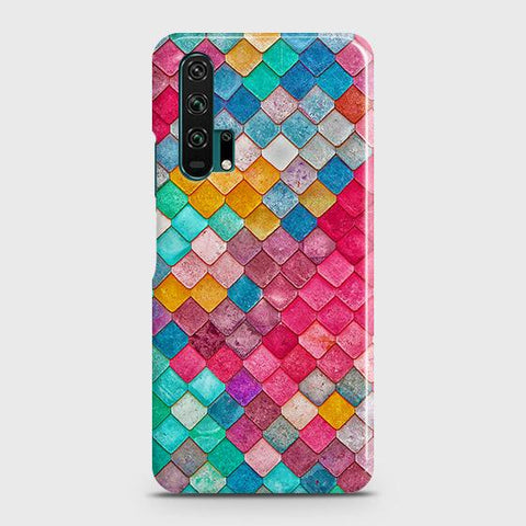 Chic Colorful Mermaid 3D Case For Honor 20 Pro