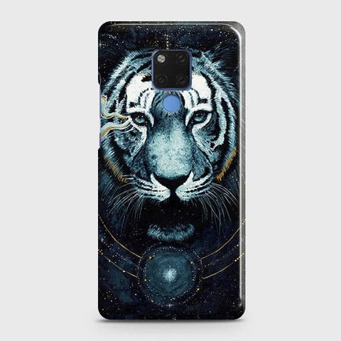 Vintage Galaxy 3D Tiger Snap On Case For Huawei Mate 20