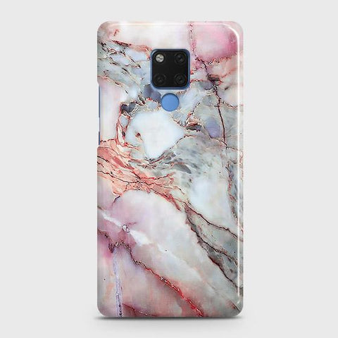 Violet Sky Marble 3D Trendy Snap On Case For Huawei Mate 20