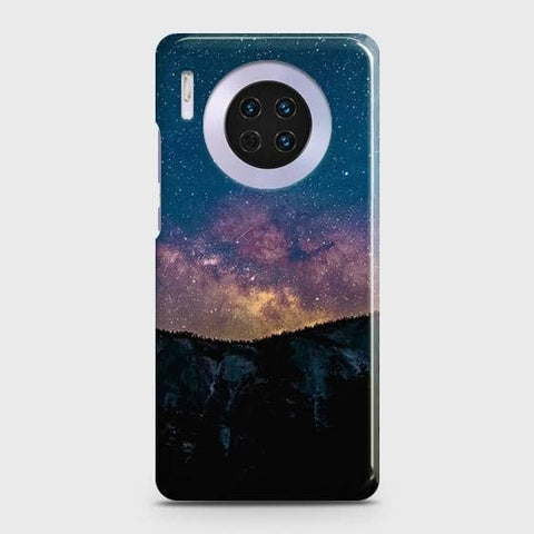 Huawei Mate 30Cover - Embrace Dark Galaxy  Trendy Printed Hard Case with Life Time Colors Guarantee
