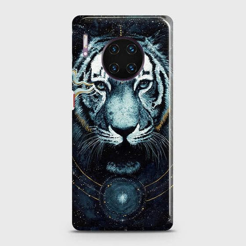Vintage Galaxy 3D Tiger Snap On Case For Huawei Mate 30 Pro