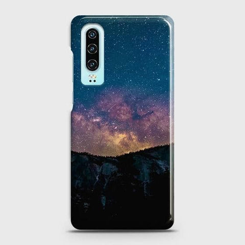 Embrace, Dark Galaxy 3D Trendy Case For Huawei P30