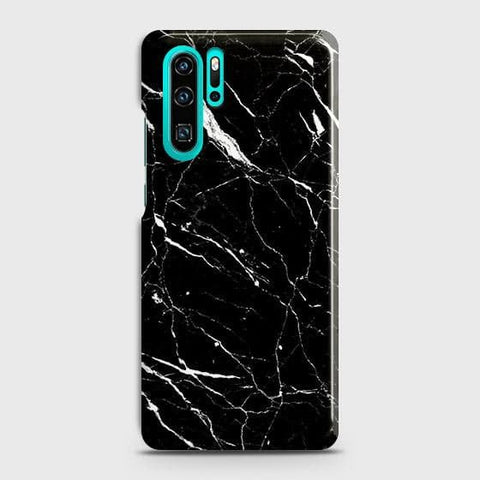 Trendy Black Marble Case For Huawei P30 Pro