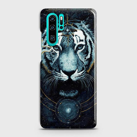 Vintage Galaxy 3D Tiger Case For Huawei P30 Pro