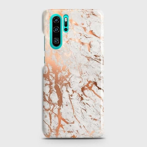 3D Print in Chic Rose Gold Chrome Style Case For Huawei P30 Pro