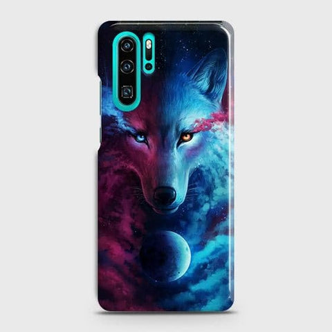 Huawei P30 ProCover - Infinity Wolf Trendy Printed Hard Case with Life Time Colors Guarantee
