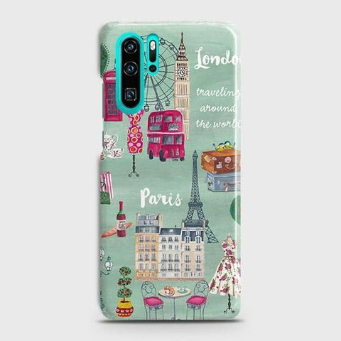 London, Paris, New York Modern Case For Huawei P30 Pro