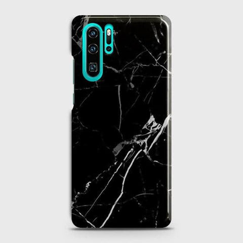Black Modern Classic Marble Case For Huawei P30 Pro