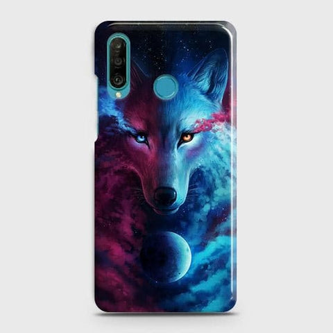 Infinity Wolf 3D Trendy Case For Huawei P30 lite